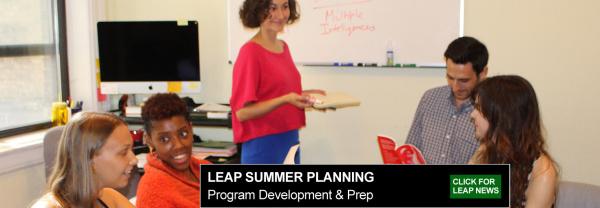 LEAP Summer Planning