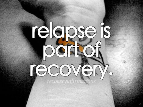 Recognizing A Slow Relapse