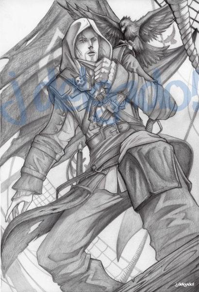 Assassins Creed Edward Kenway.