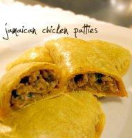 Jamaican Curry Chicken Patty