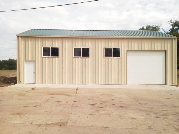 29' x 48' x 14' LCI Metal Building