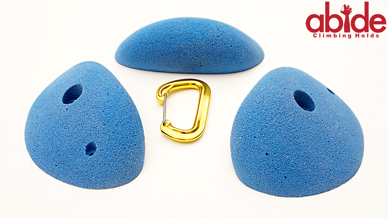 3 Large Cobble Edges Abide Climbing Holds