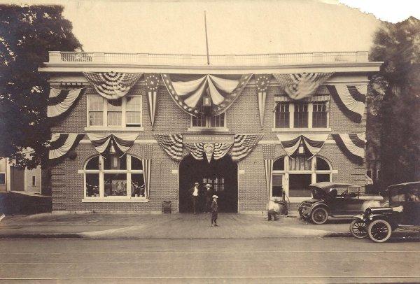 Meyerscough & Buchan Garage, Main Street, Andover