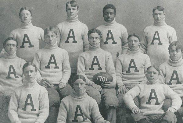 Punchard High School football team, 1901
