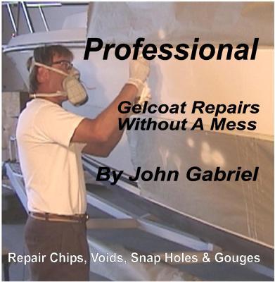 Gelcoat repair instructions
