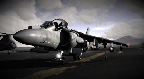 AV8B II Harrier Jump jet
