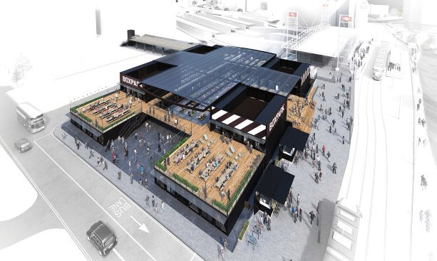 SECOND BOXPARK FOR UK