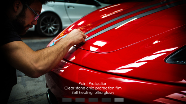Paint Protection Film - Self healing, optically clear, virtually impenetrable