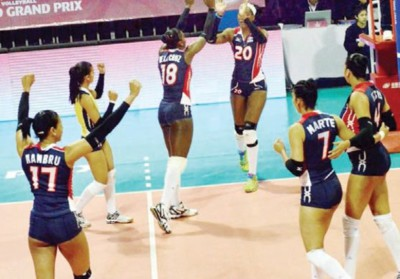 Voleibol RD vence 3-0 a Kenia en Torneo Grand Prix