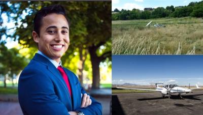 Muere estudiante dominicano en accidente aéreo cuando pilotaba avión en Utah