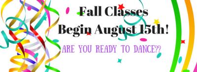 Classes Begin!