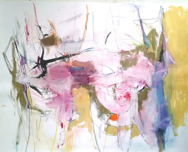 abstract,art,painting,mixed media,mary ann wakeley,colorful,movement,dance,celebrate,now