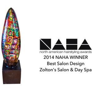 2014 NAHA Winner - Best Salon Design