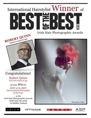 BEST OF THE BEST - Best International Stylist