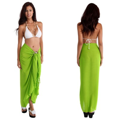 Solid Color Sarong Beach Wraps