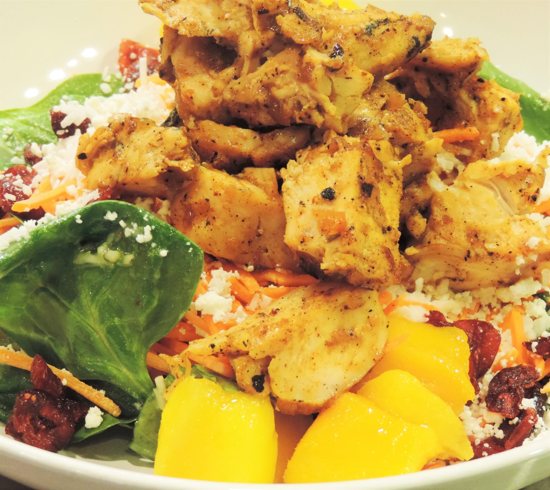 You Jerk Chicken (Salad)