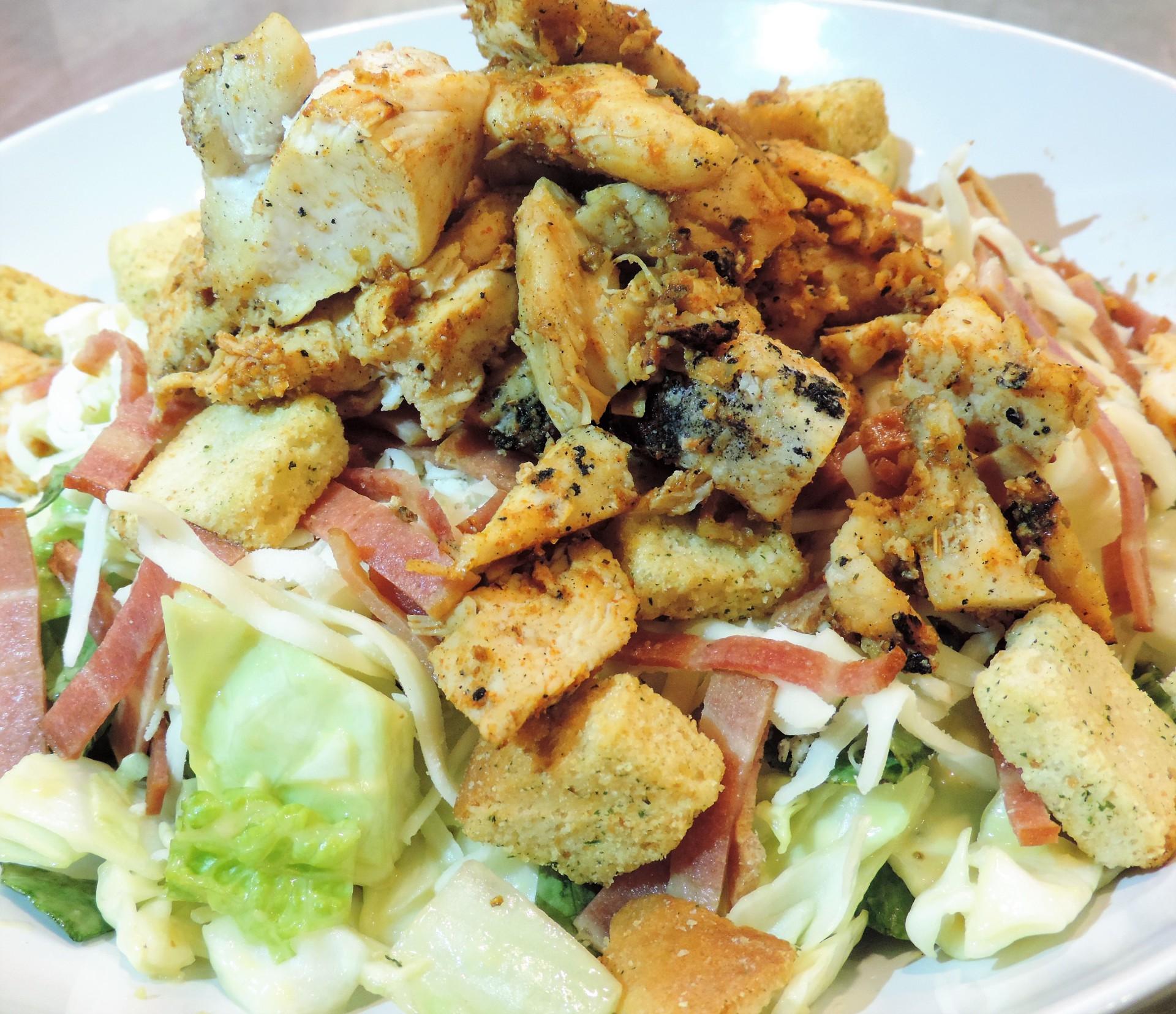 Rancher's Chicken Caesar (Salad)