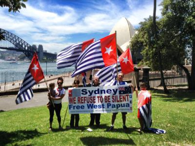 SYDNEY TO MARCH FOR WEST PAPUA