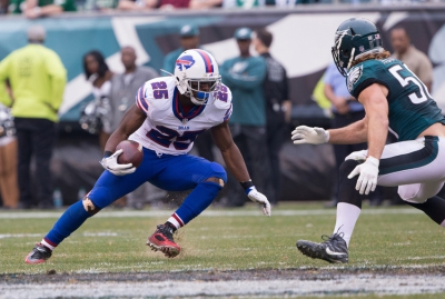 Buffalo Bills was Ranked 2nd in which Rushing Category?