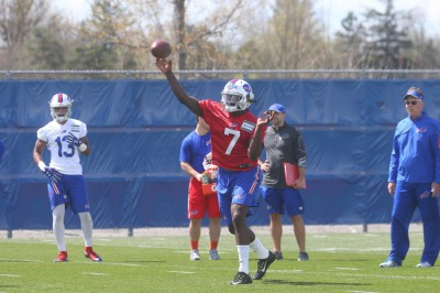 Day Two of Bills mini camp