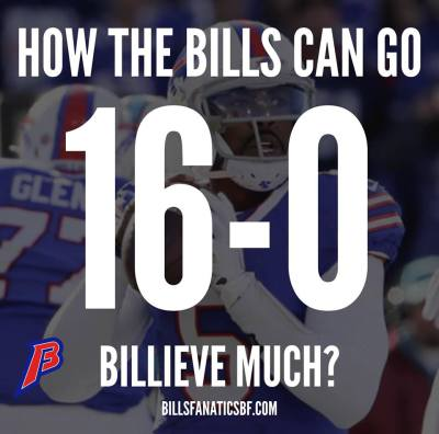 How the Buffalo Bills can go 16-0 in the 2016 NFL Season