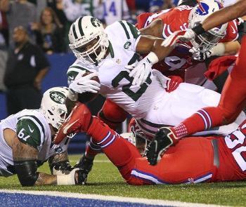 Jets Crash Bills' Home Opener