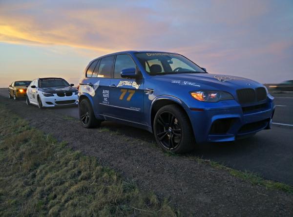 BMW X5M e70, BMW M5 e60, Dodge Challenger SRT8