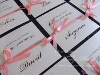 Wedding seating cards