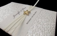 Wedding beach invitations