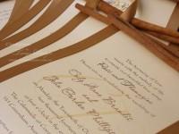 rustic elegant wedding invites