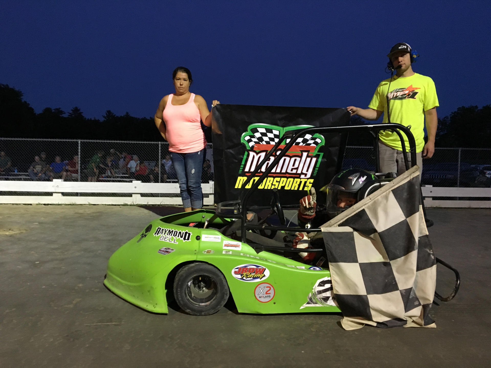 RAYMOND BELL COLLECTS 3RD WIN THIS SEASON