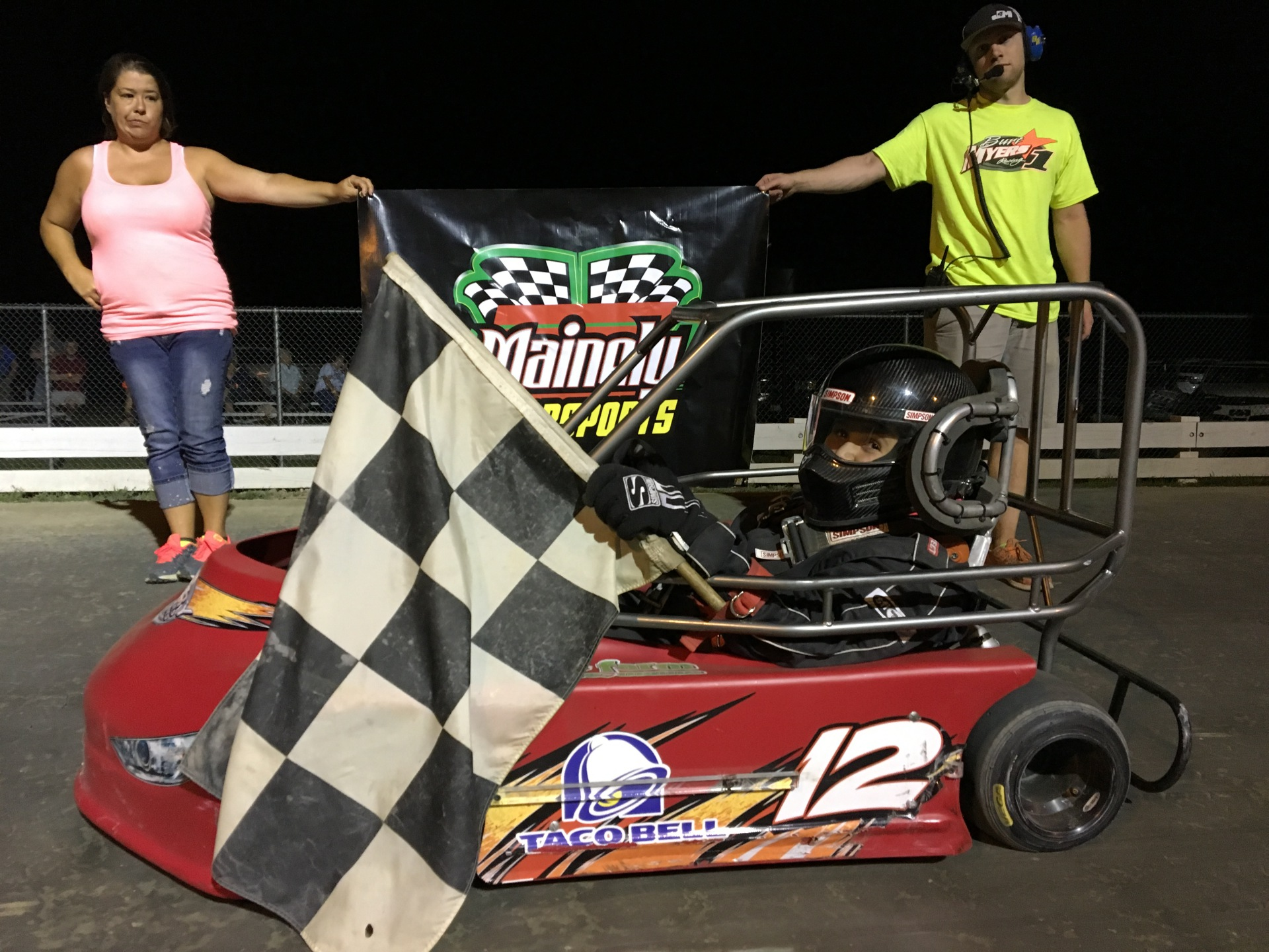 BLAKE BERRY CAPTURES SR CAGE WIN #1 IN ROUND 6