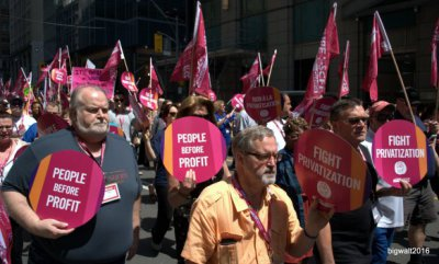 Bay Street Protest, Friday May 27, 2016