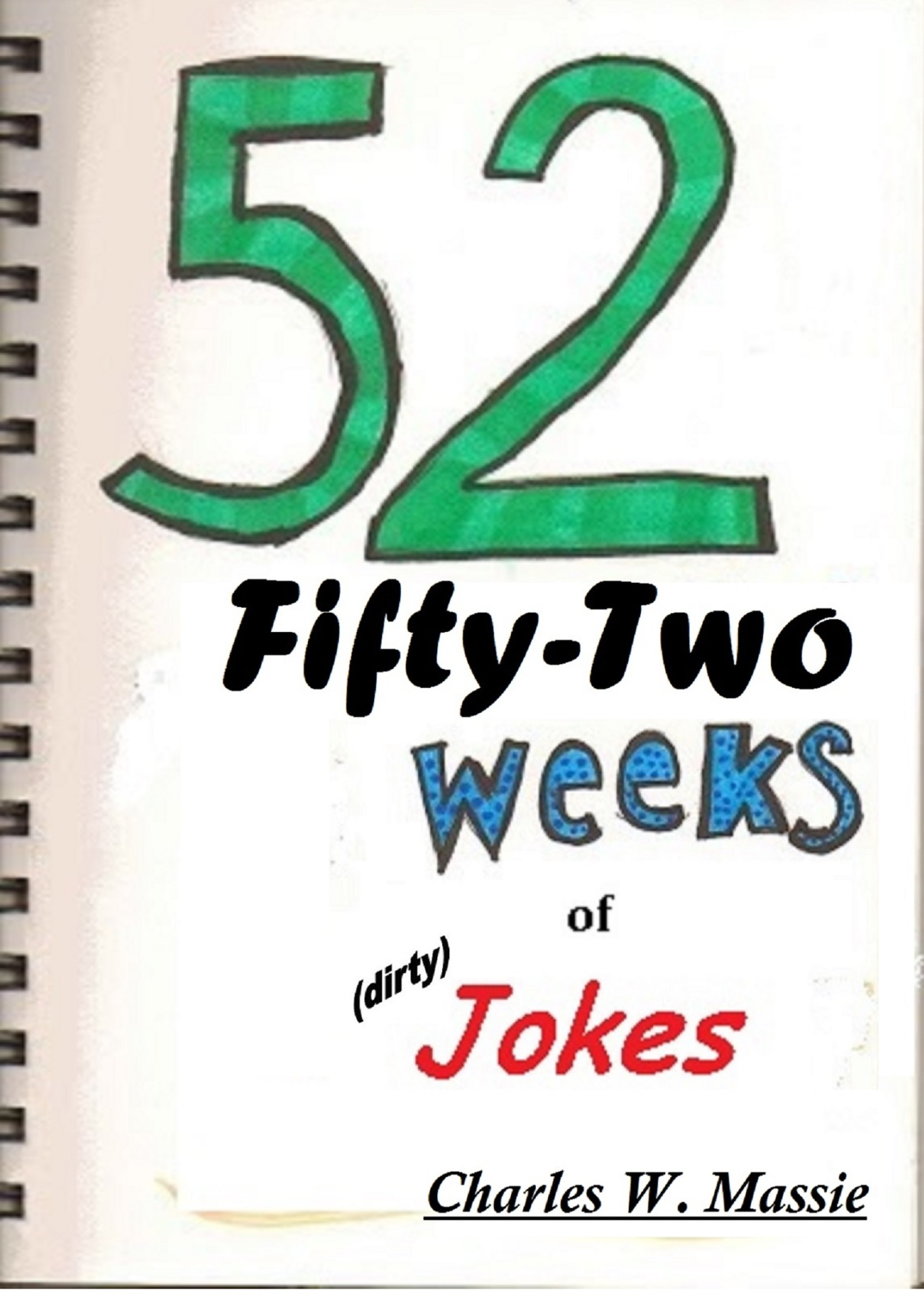 FiftyTwo (52) Weeks of Jokes cover