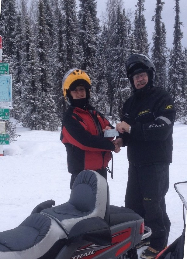 Snowmachine ride!