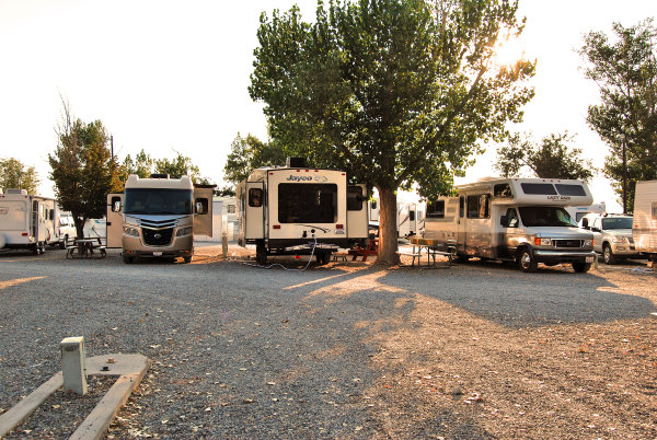 Room for all size RV's