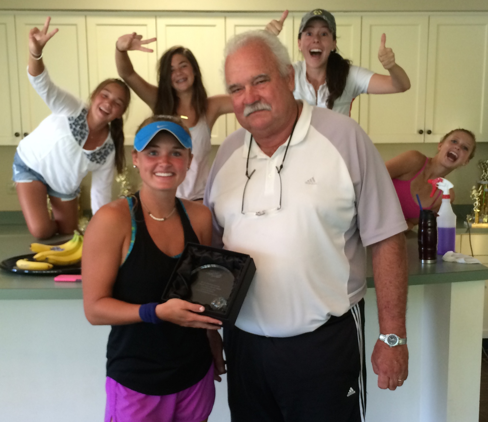Annie Mayfield win the Sportsmanship Award at the GA L2 in Columbus, GA