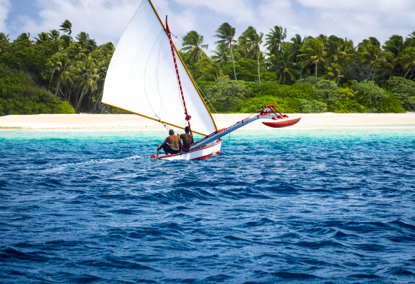 Racing in the Marshall islands