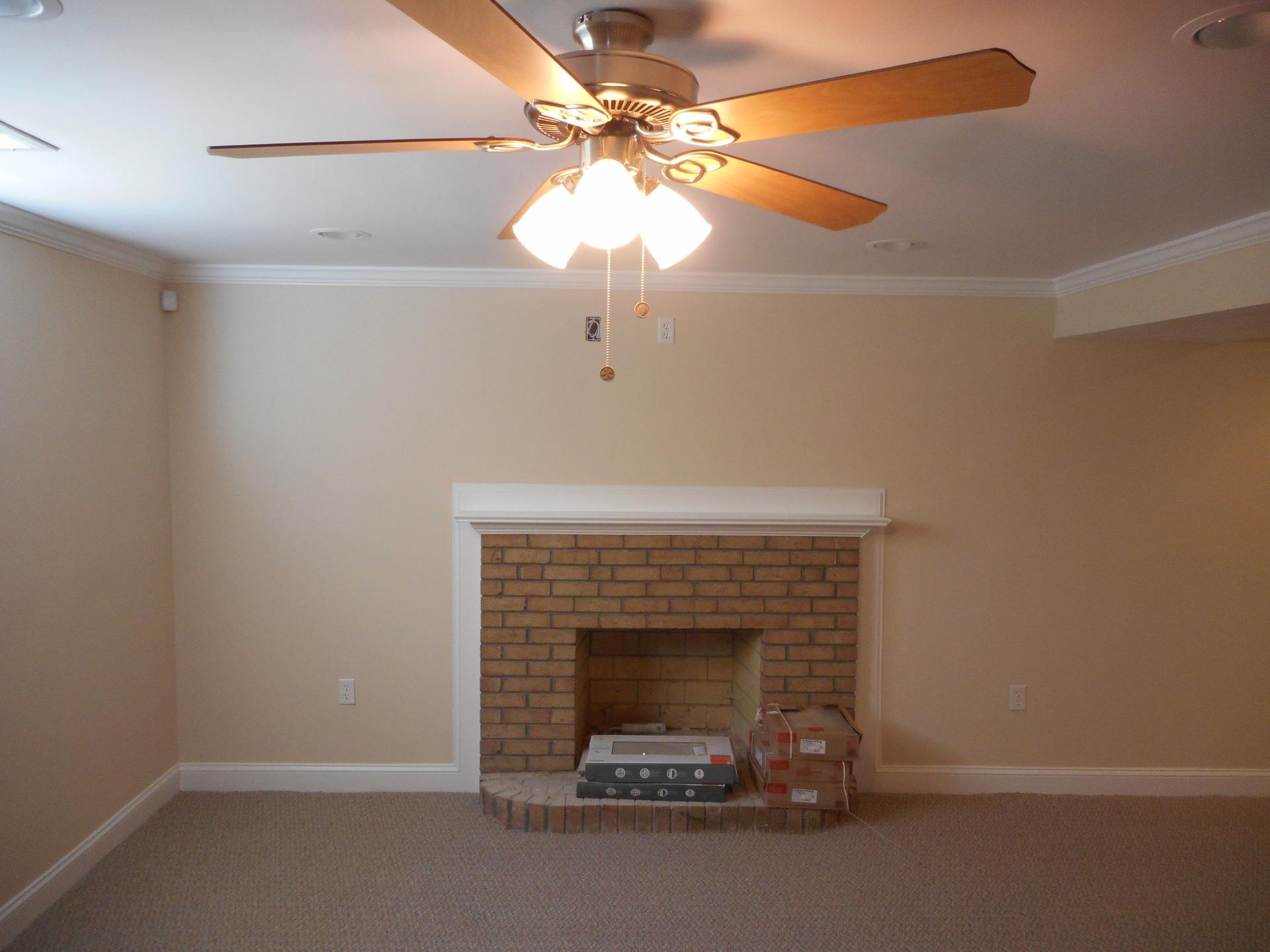 Basement Drywall Work