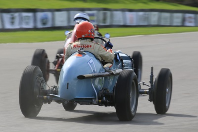 Bellevue and Parnell at Revival -  Goodwood Trophy