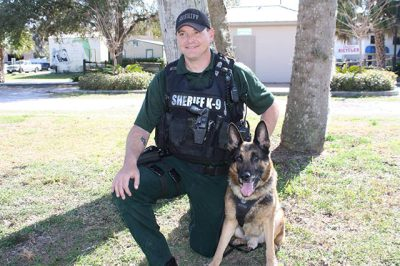 "Deputy Behnen and K9 ""Jerry Lee"""