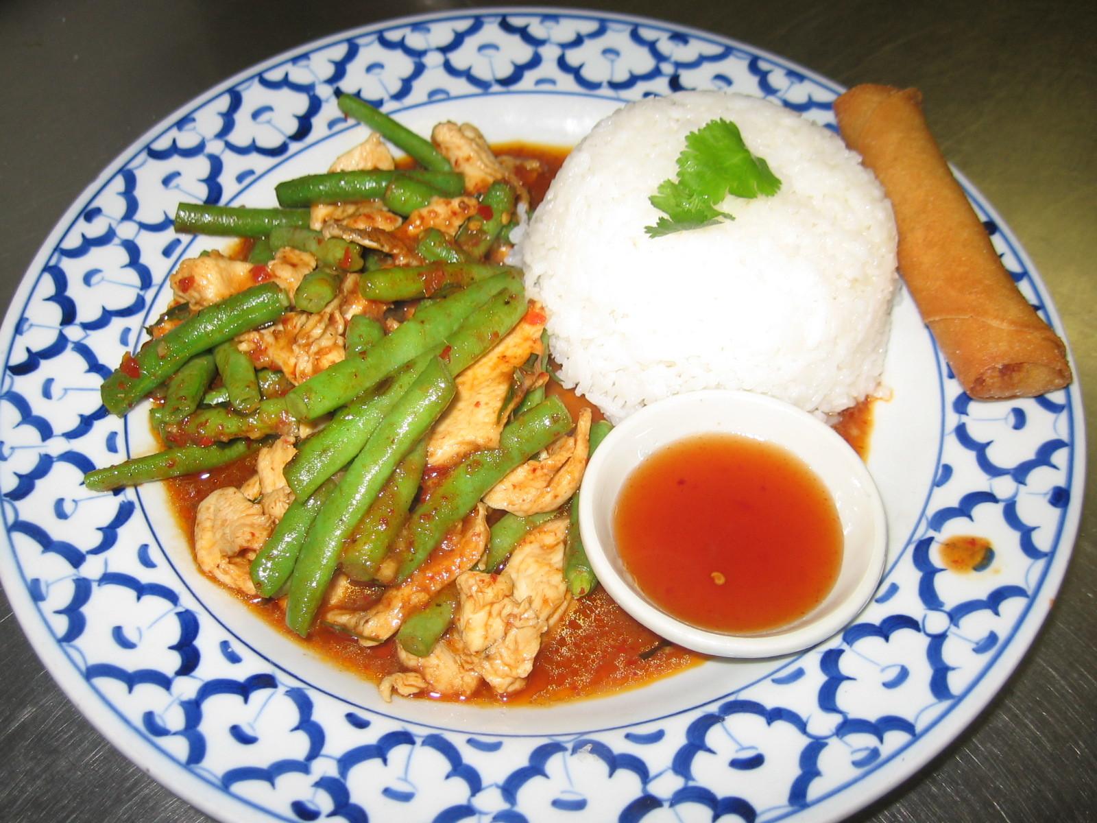 Pad Plik King (Thai Chili)