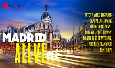 Madrid is alive