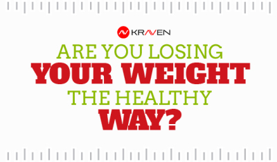 Are you loosing your weight the healthy way?