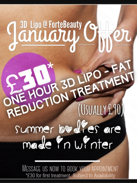 beauty treatment offer