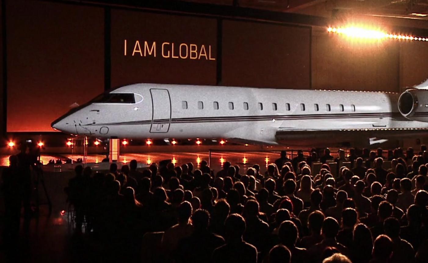 Bombardier Net Jet