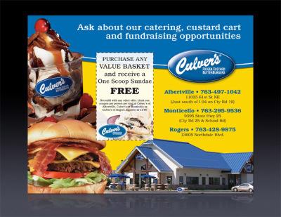 Culver's ad