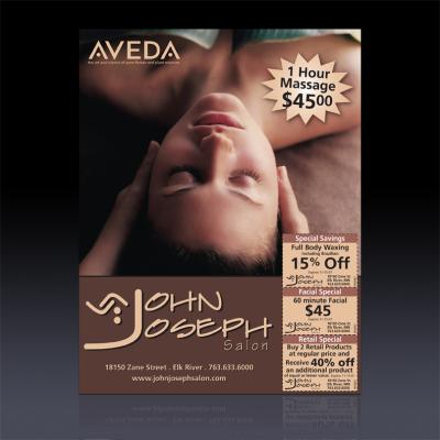 John Joseph Salon print ad