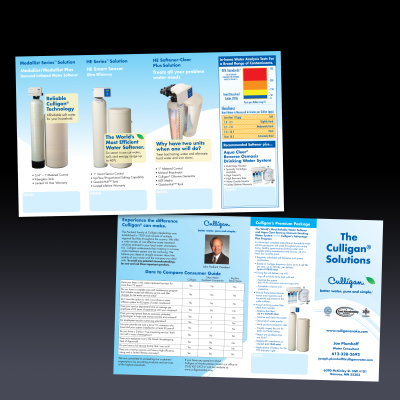 Culligan Solutions brochure