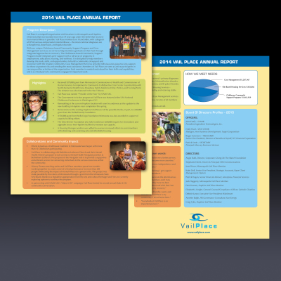 Vail Place annual report
